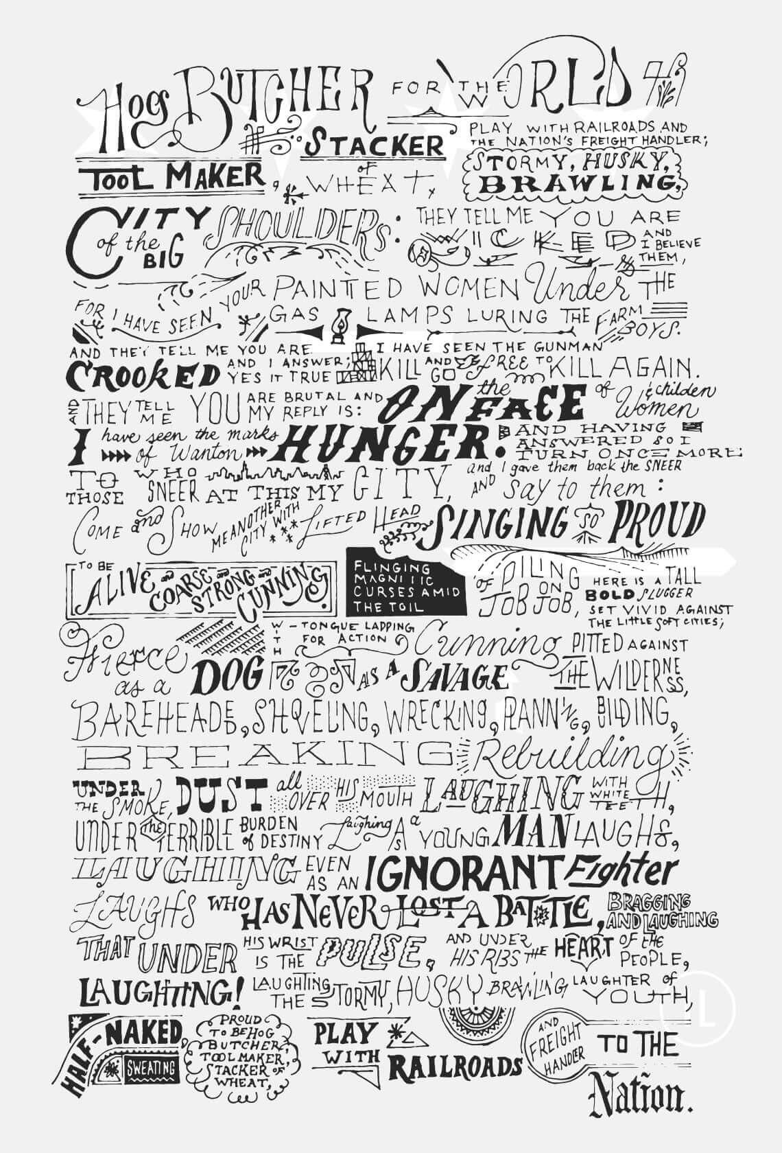 Poster-Sandburg-Chicago
