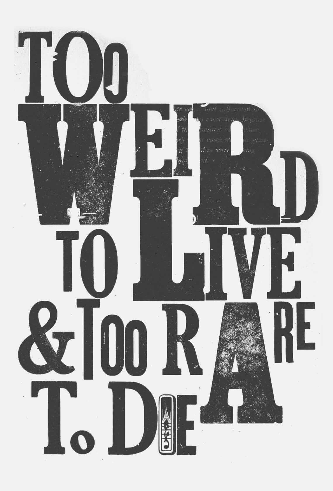 Poster-Too-Weird